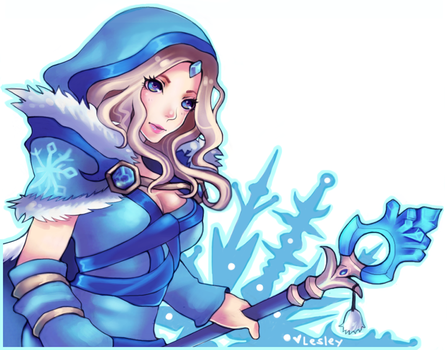 Crystal Maiden by BaneIing