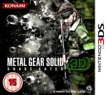Metal Gear Solid 3D - Snake Eater (RBF on cover) by RBF-productions-NL