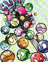 Gumballs by charliegaines
