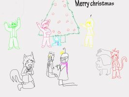 Merry christmas by CaileanTheAlien