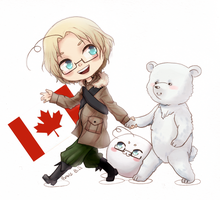 Canada. Hetalia by EvrisBS