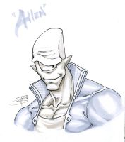 Allen the Alien by FooRay