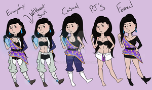 :Sabine Outfits:. by alexpc901