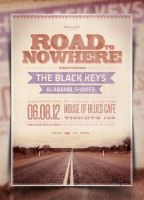 On The Road Flyer/Poster Template by IndieGround