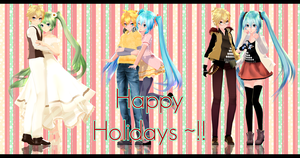 .:Merry Christmas !! +Dl's:. by Crystallyna