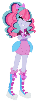 Sonata Dusk and Pinkie Pie Fusion by MeowWoofOink