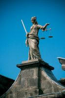 Dublin - Lady Justice by IanStruckhoff