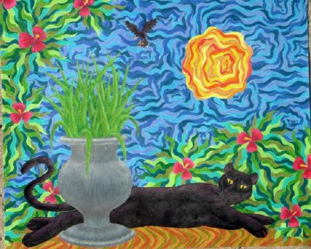Panther in Paradise by ZanneS