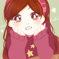 Mabel Pines Star Pink Sweater icon by Ayachiichan