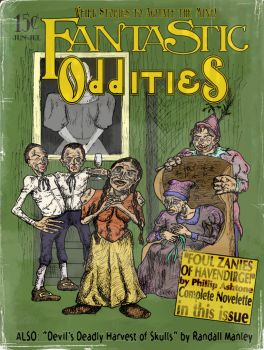 Fantastic Oddities cover by TroyJunior
