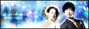 My Girlfriend is a Gumiho Sig by RaizenGFX