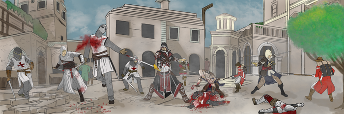 Assassin's Creed: Generations Bloody by PAYNEtacular