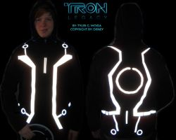 TRON: Legacy Jacket WIP 2 by HynMayProductions