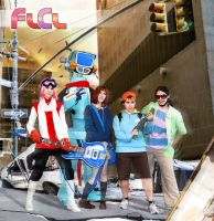 FLCL cosplay by GhoulSoul