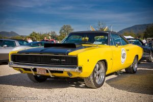Yellow Mopar Beast by AmericanMuscle