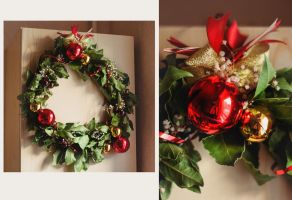 Christmas Wreath by Teyvilin