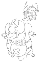 elephant fakemon by Pixel--Pete