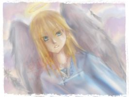 angel in the sky by t3nshi