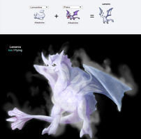 Pokefusion: Lamanra by Shails-Destroyer
