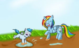 Getting your hooves dirty by AC-whiteraven