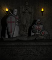 Knights Templar by Tuffers-Art