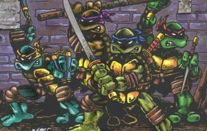 TMNT comic by stopmotionOSkun