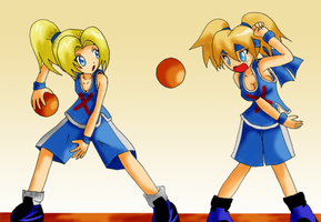 Request - Dodgeball girls by Lucky-JJ
