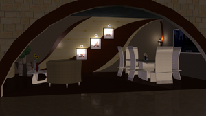 Jaquelin's Dining Room by The-Port-of-Riches