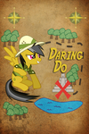 Daring Do Iphone BG by TecknoJock