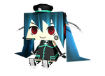 MMD - smf / spm miku (papercraft like) by Ina-C