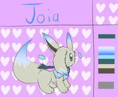 Joia refrence sheet by Eevee-woman