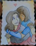 Korrasami Watercolor Card by neo-dragon