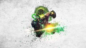 League of Legends - Singed Wallpaper by Soinnes