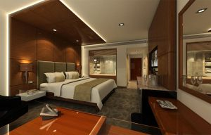 Hotel room by jakpowered