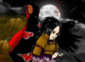 Tobi-Madara Halloween 2007 by myu2k2