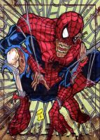 Zombie Spiderman PSC by chris-foreman