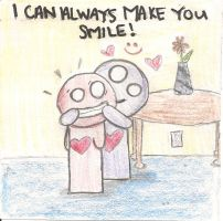 I Can Always Make You Smile by arymay2013