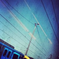 Metro Trains and  Electric Lines by XxXNikkiColaXxX