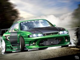Nissan Skyline R33 by galantaigeri