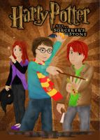 Harry Potter I. Poster by LesleeTussa