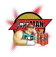 DUFF MAN by digital-alero
