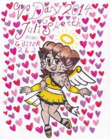 V-Day 2014: JuliSketch by gilster262