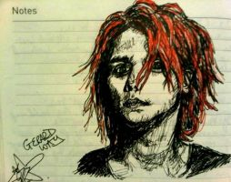 Gerard Way by fightthesky