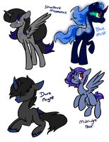 Luna X Sombra Adopts by ThePotato-Queen