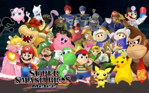 Super Smash Bros. Melee Characters by MarioKero345