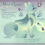 Moss the Waxcat by ThatOneGoldfish