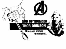 Avengers - Thor Odinson by Mr-Saxon