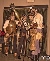 Steampunk Italia al Waiting for The Past - Torino- by Steampunk-Italia