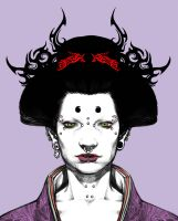 Punk Geisha by motoichi69