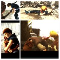 Brothers: A tale of two sons: sorrow by ClaraDerps